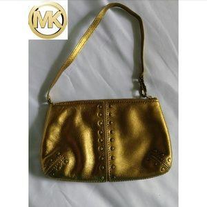 Michael Kors Gold  Mini Bag